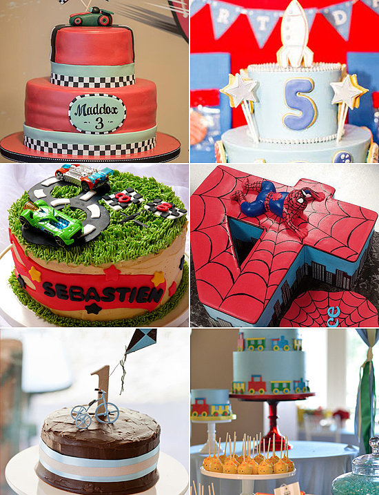Birthday Cakes For Boys POPSUGAR Moms