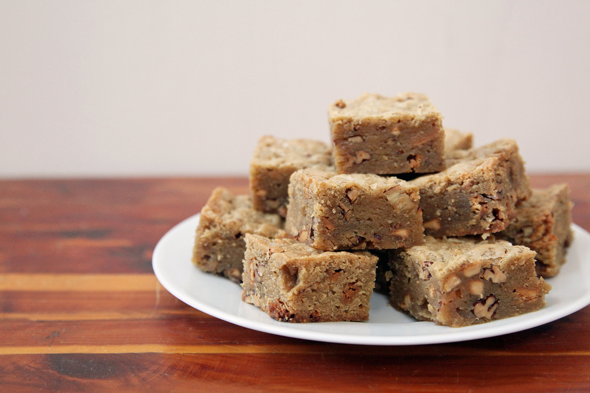 Brown Butter Blondies With Pecans | POPSUGAR Food