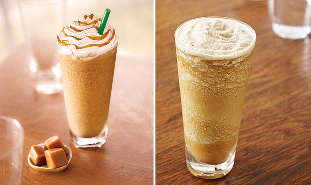 Warm Coffee Drinks At Starbucks
