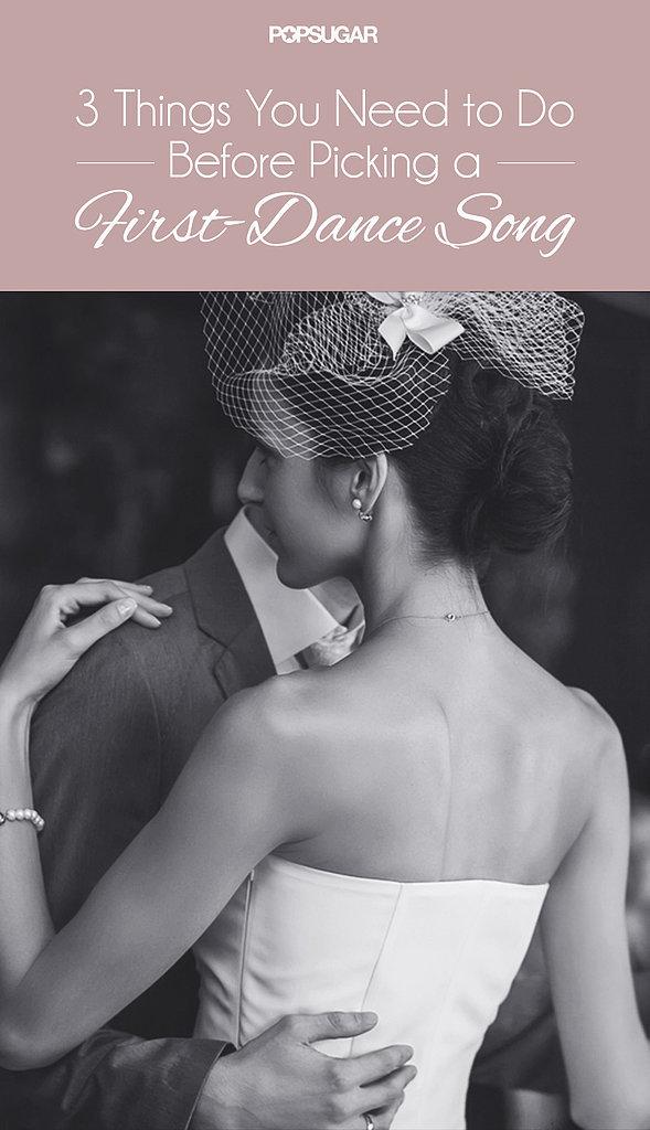 Wedding First-Dance Song Tips | POPSUGAR Entertainment