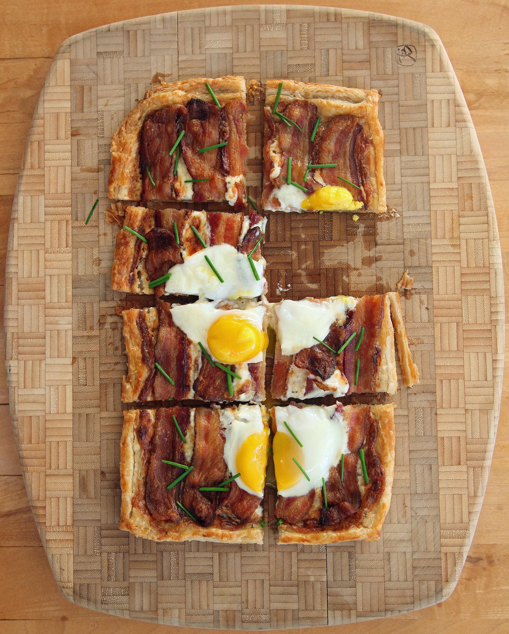 Recipe for bacon and egg breakfast tart popsugar food forumfinder Choice Image