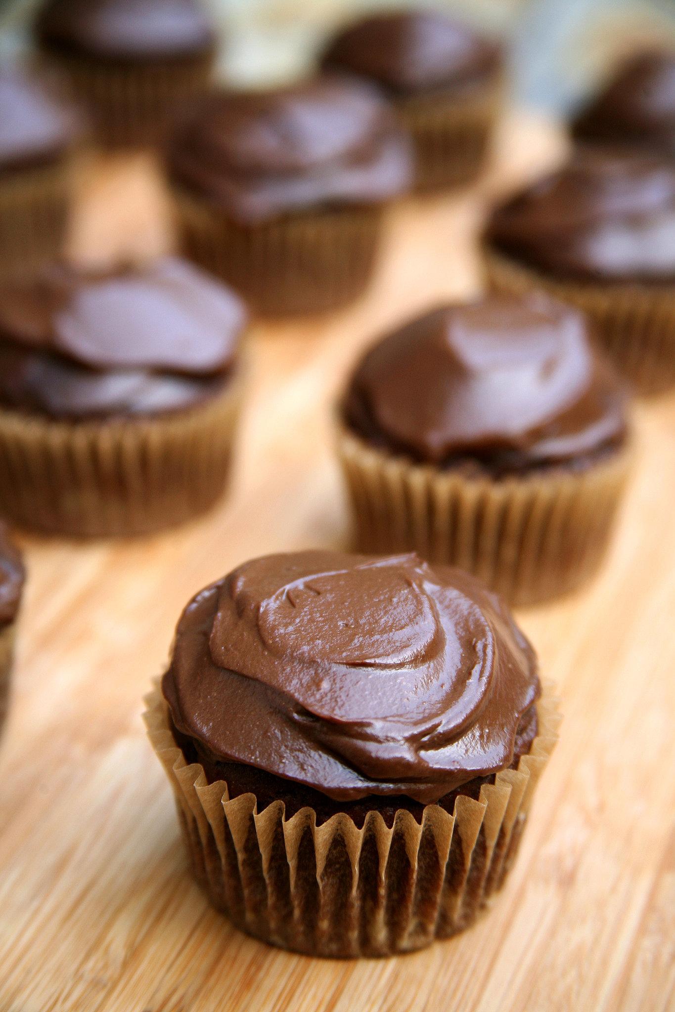 Vegan Chocolate Cupcakes | POPSUGAR Fitness