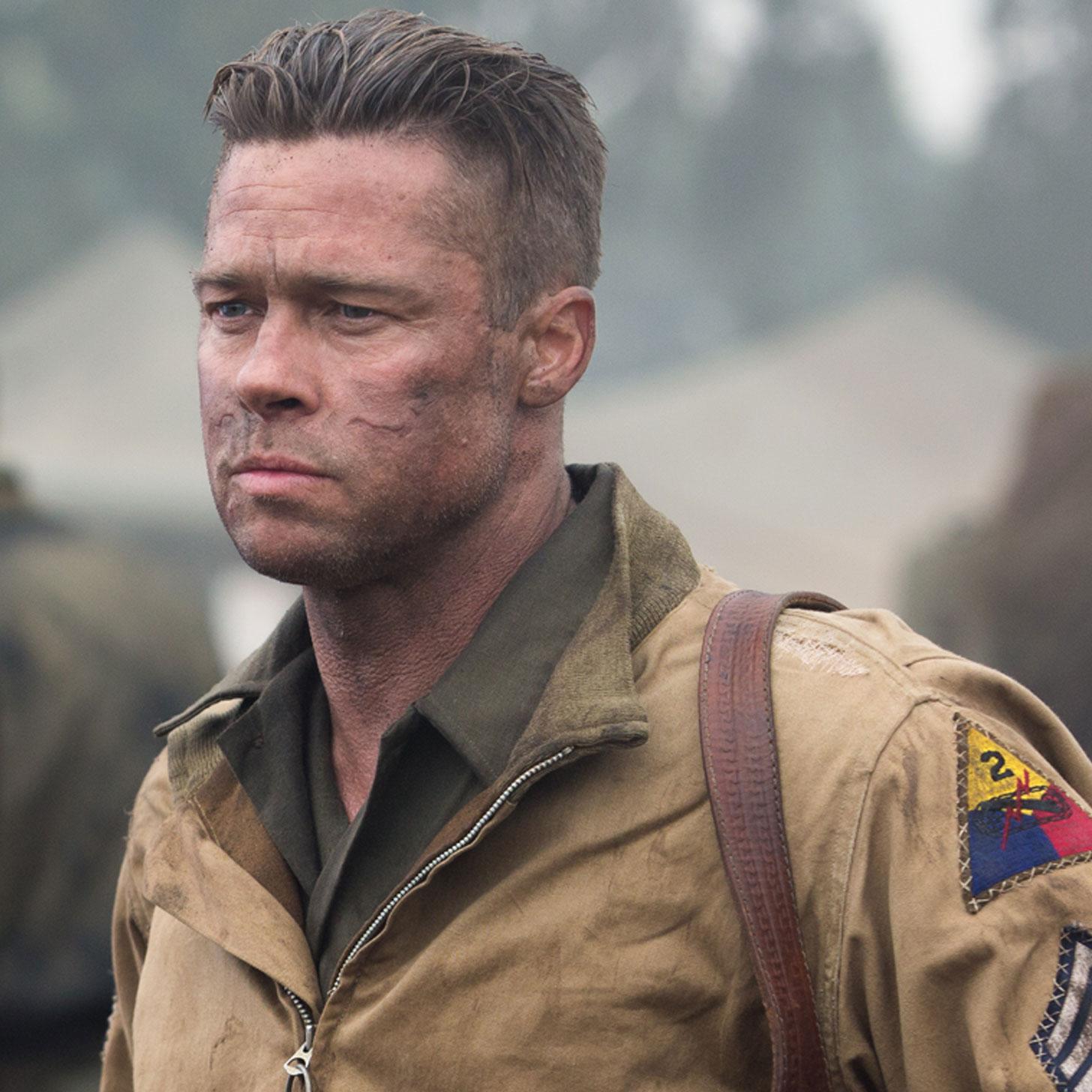 Brad Pitt Fury Movie