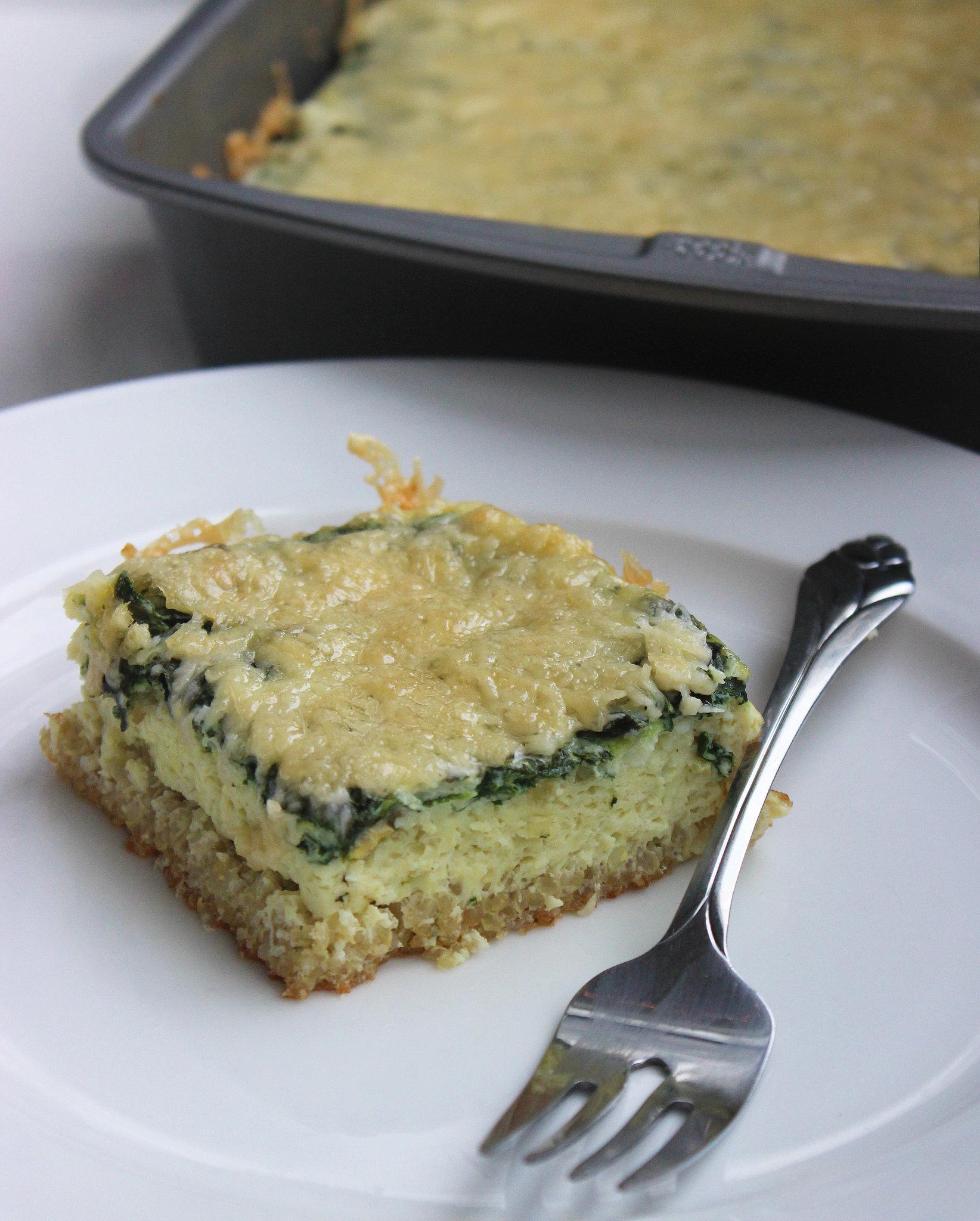 ... recipe combines two superproteins quinoa and eggs the quinoa serves as