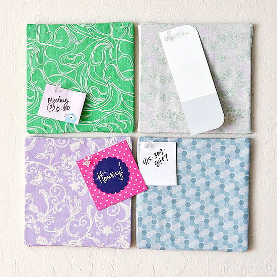 How to get organised popsugar australia smart living for Diy fabric bulletin board ideas