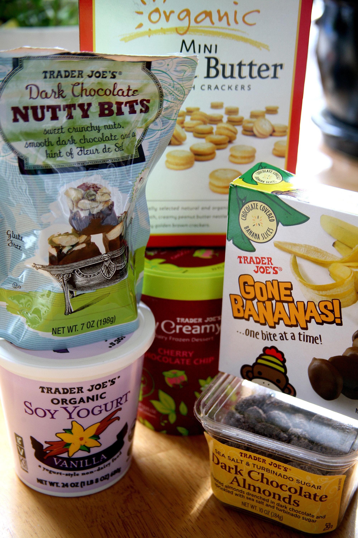Healthy food options at trader joe's