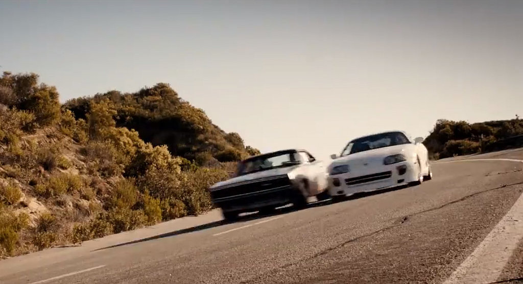 What Car Is Paul Walker Driving In The Furious 7 Tribute