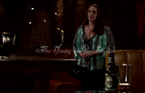 mariah copeland aqua top the young and the restless