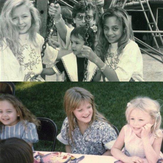 Paris Hilton Wishes Nicole Richie Happy Birthday 2015