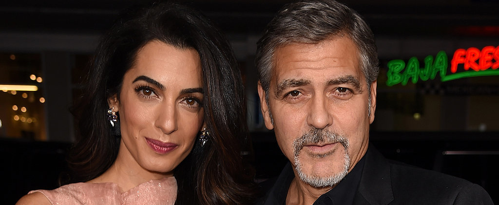 George and Amal Clooney Exude Love on the Red Carpet
