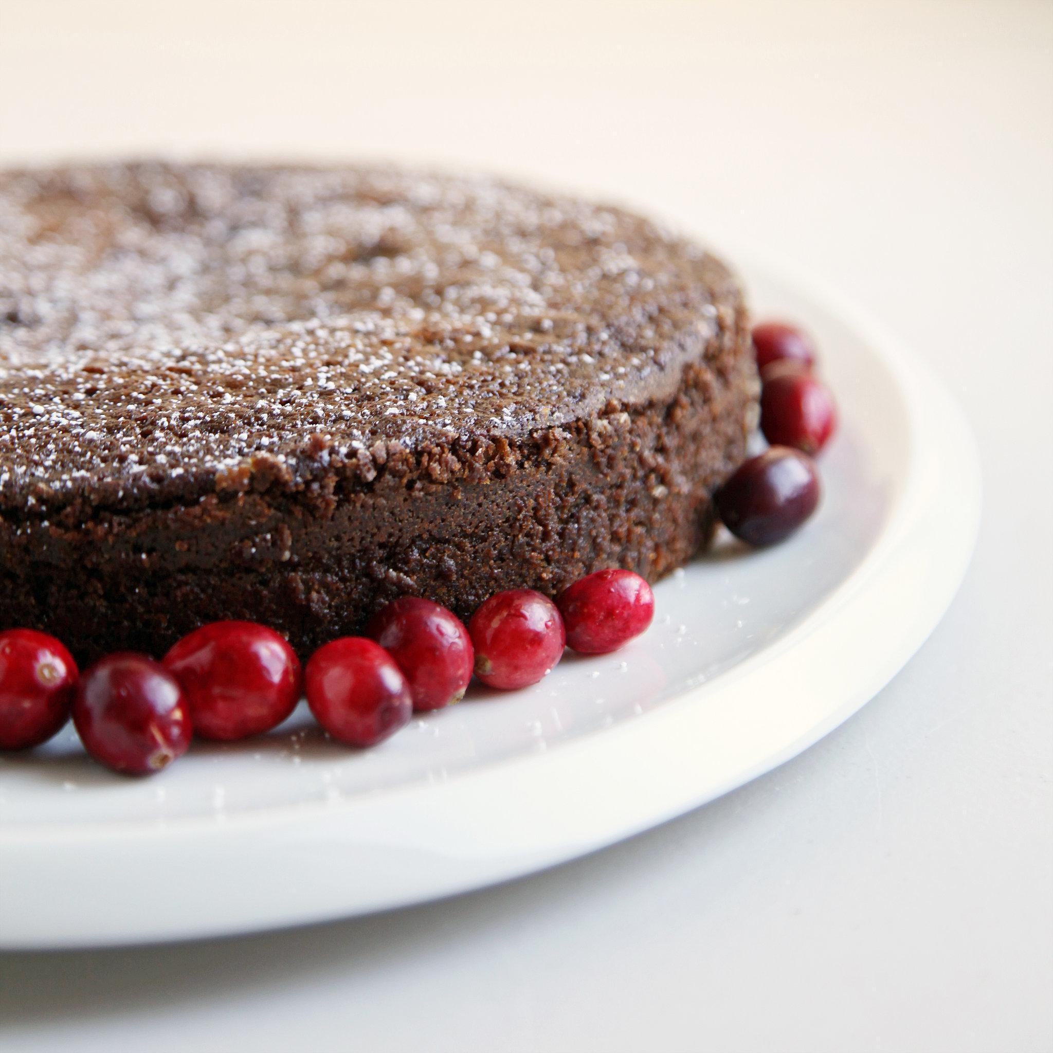 Cranberry Gingerbread Cake Recipe | POPSUGAR Food