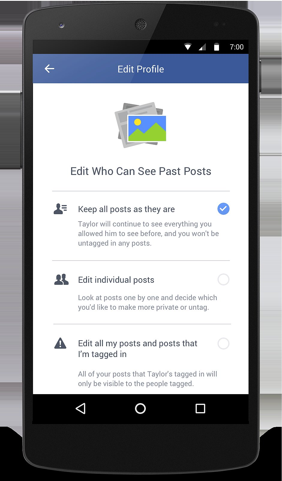 how to change who can see your commnets on facebook