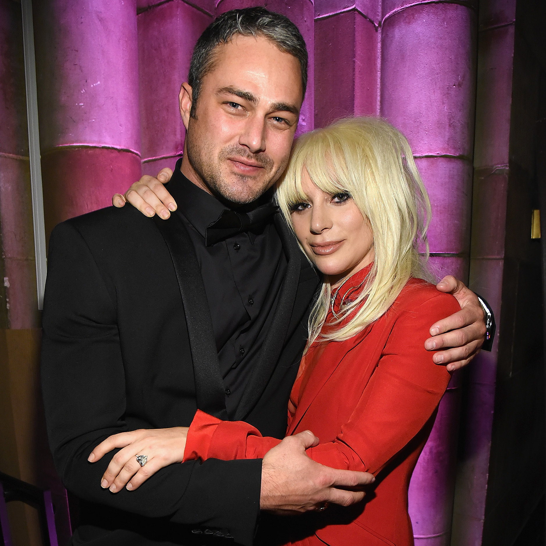 Taylor Kinney and lady gaga interview
