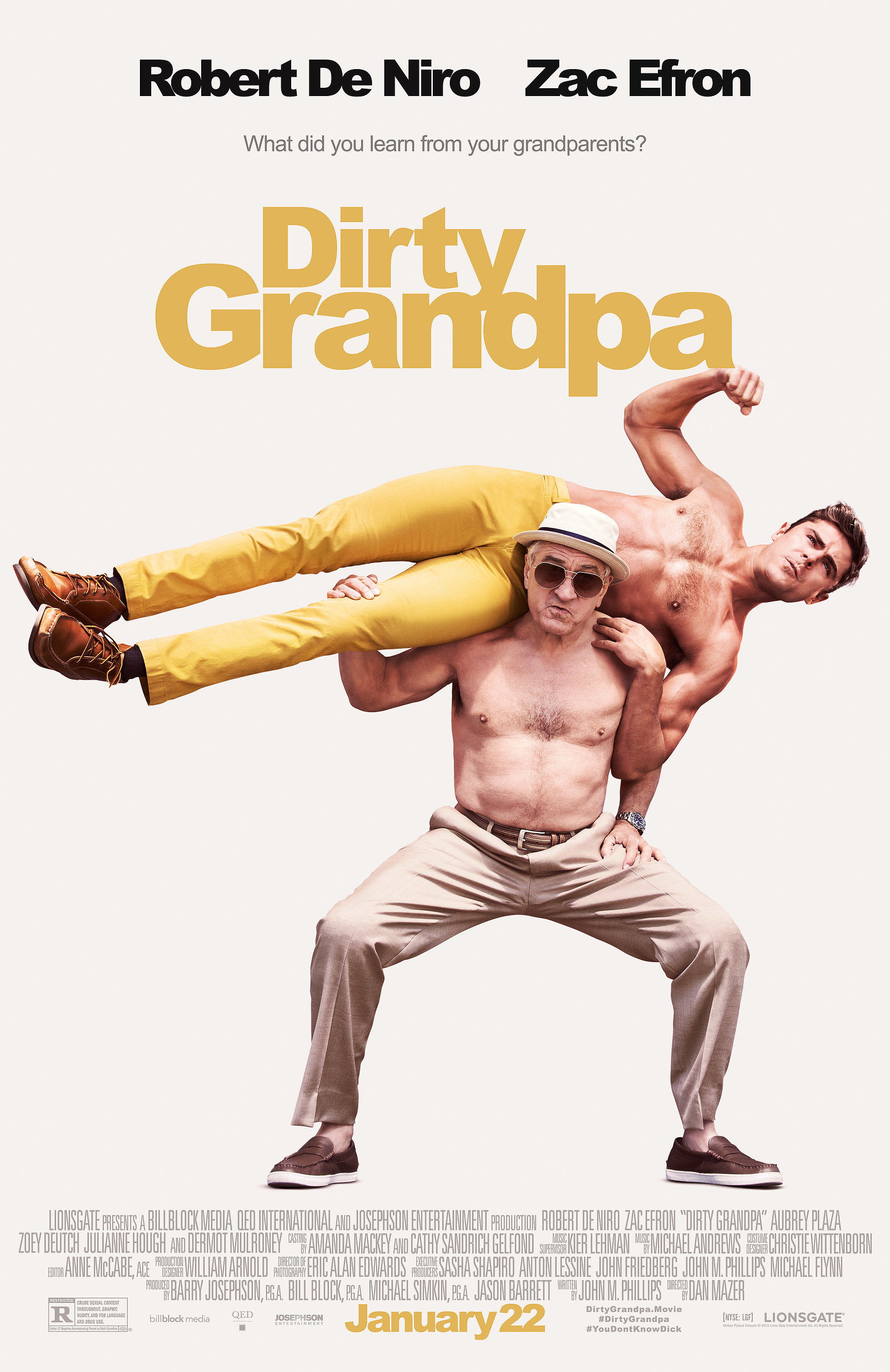 Image result for dirty grandpa movie poster