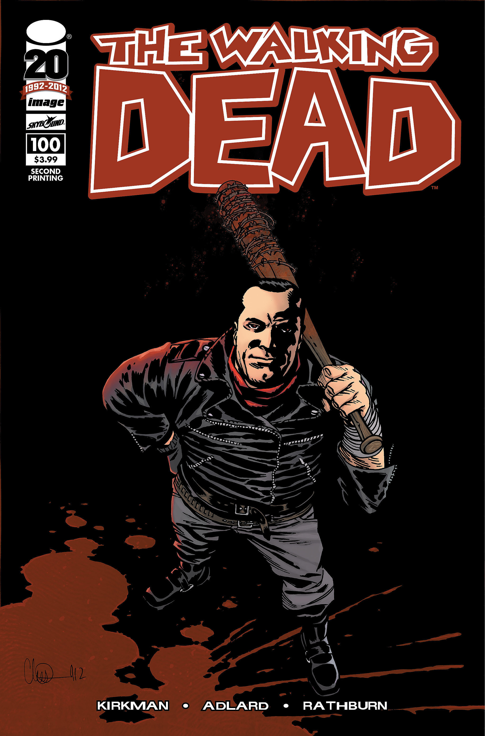last comic book of walking dead