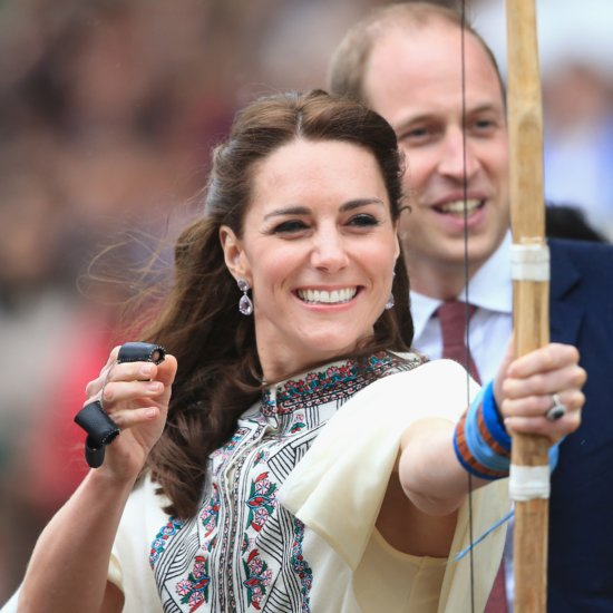 Kate Middleton Playing Sports | Pictures