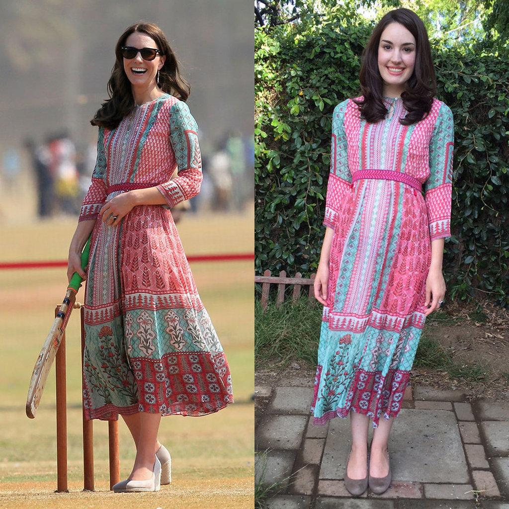 Kate Middleton's Anita Dongre Dress
