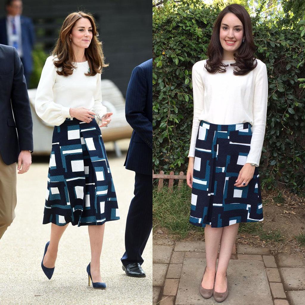 Kate Middleton's Banana Republic Skirt