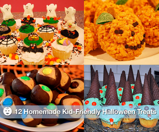 Sugar shout out homemade kid friendly halloween treats for Easy kid friendly halloween treats