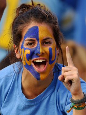 Face Paint For Football Games Ideas