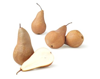 Champagne-Poached Pears