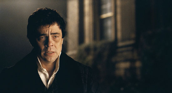 Movie preview benicio del toro emily blunt in the wolfman popsugar