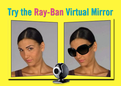 try on ray ban glasses online
