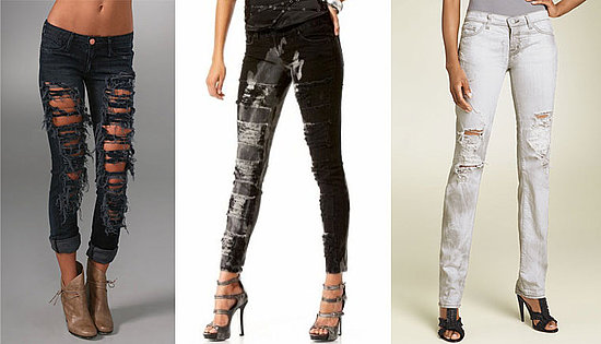 How Much Is Too Much When It Comes to Shredded Jeans? | POPSUGAR