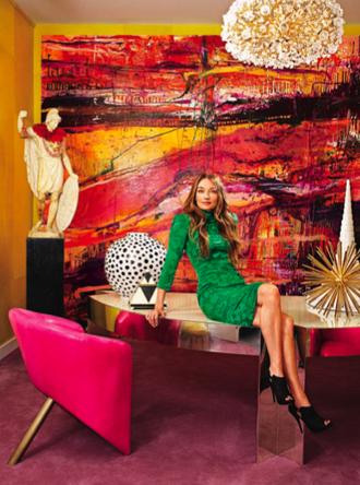 The new yorker profiles kelly wearstler popsugar home for Kelly wearstler interior design