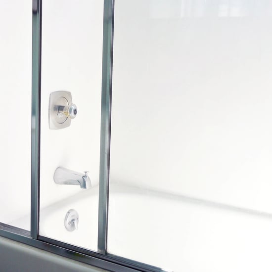 how to clean glass shower doors with hard water stains