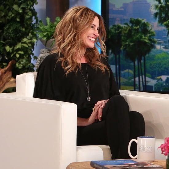 Julia Roberts on The Ellen DeGeneres Show April 2016