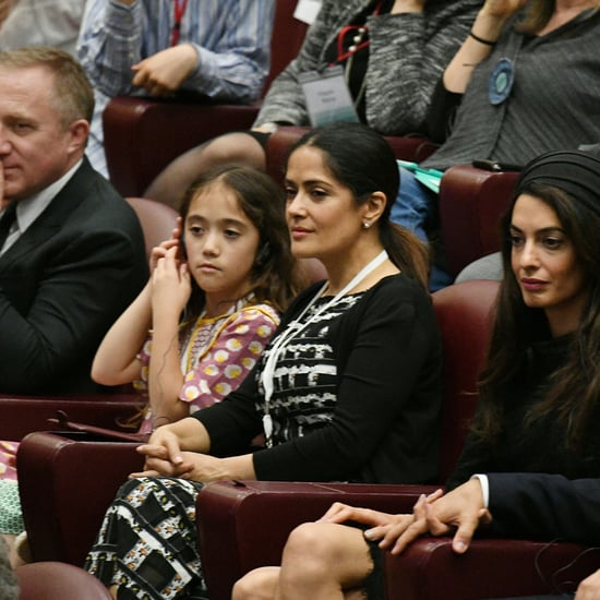 Salma Hayek With Her Family in Rome May 2016