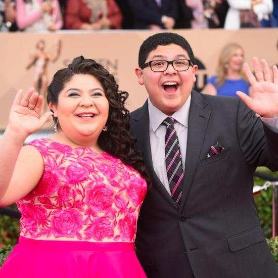 Rico Rodriguez and His Sister at the SAG Awards 2016