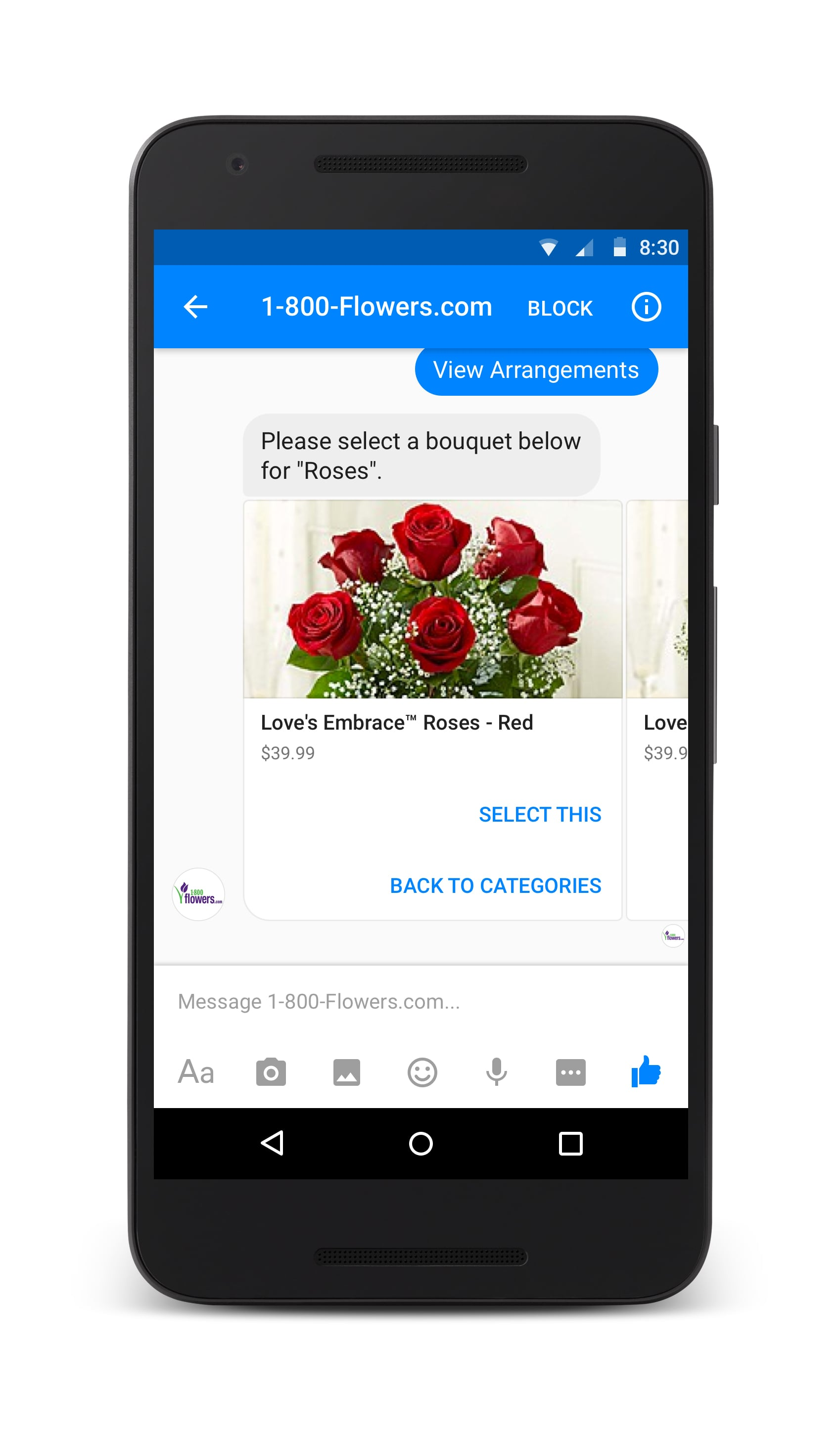 how to clear a search on facebook messenger