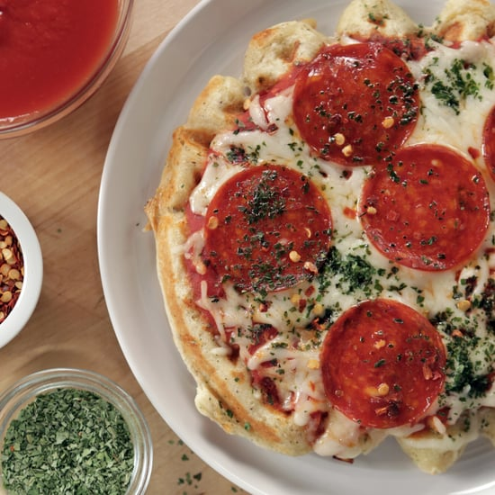 Pizza Waffle   Food Video