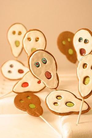 Ghost Lollipop Cookies