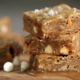 Salted Butterscotch Blondies With Maple-Butter Sauce