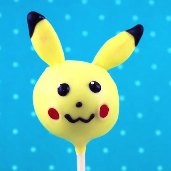 How To Make Pikachu Cake Pops