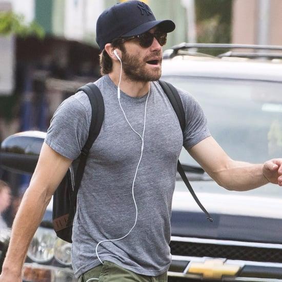 Jake Gyllenhaal Walking in NYC June 2016