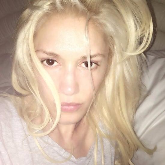 Gwen Stefani No-Makeup Selfie | May 2016