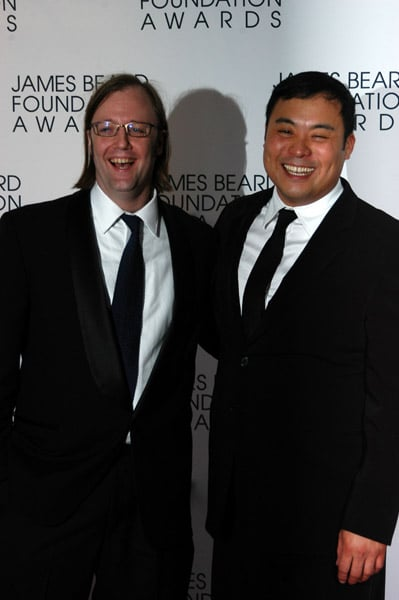 Wylie Dufresne and David Chang