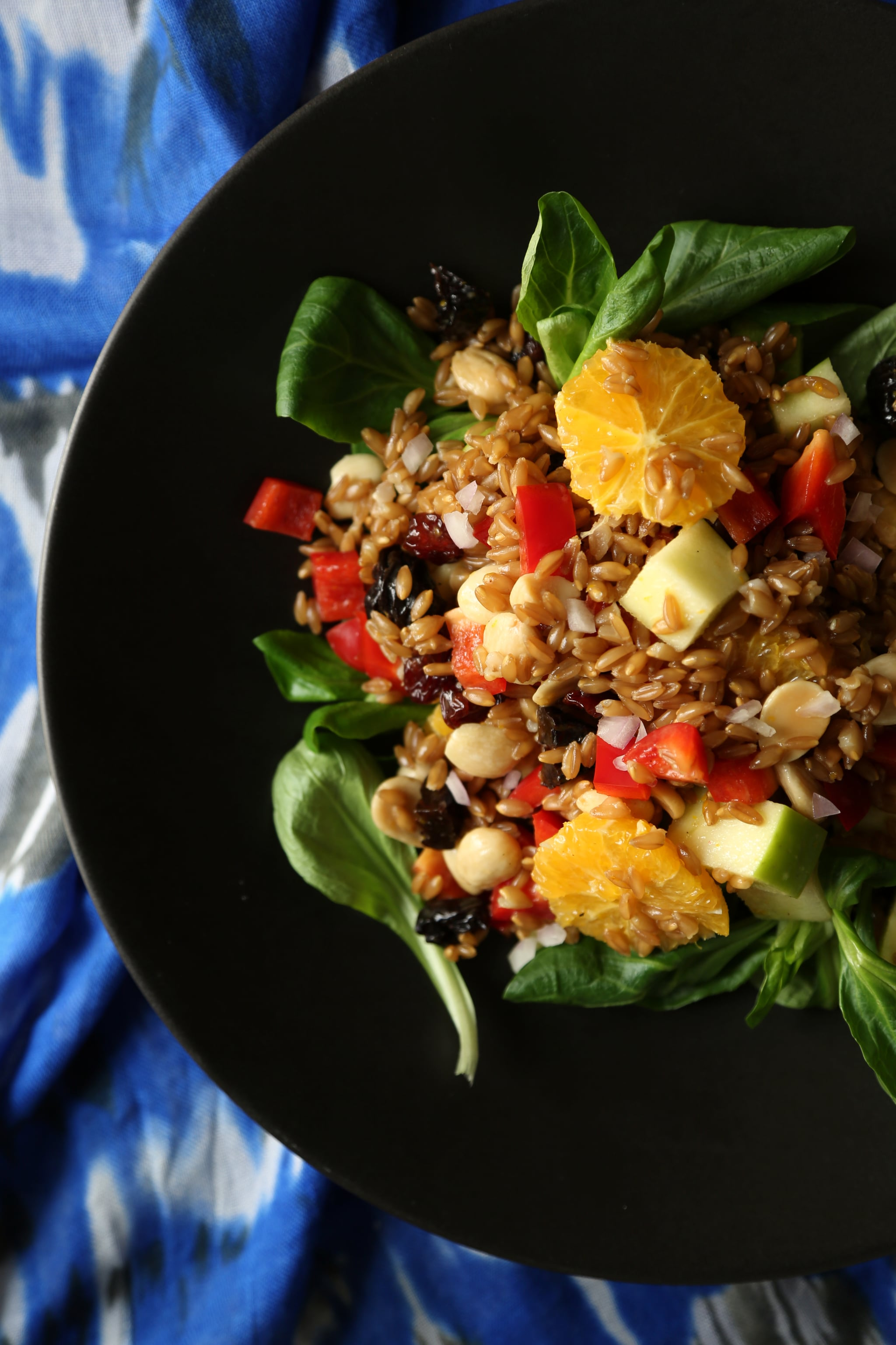 Guy Fieri Goes Vegan For This Farro Salad