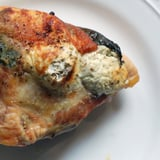 Chicken With Goat Cheese and Basil Recipe