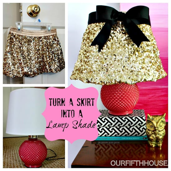 skirt to lamp shade
