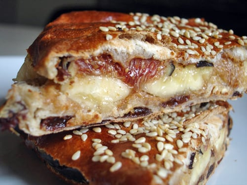 Fruit and Nut Butter Panini