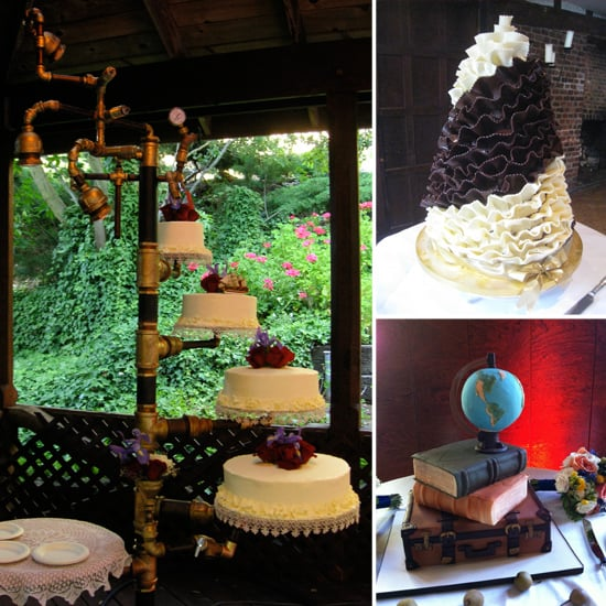 cool wedding cake pictures unique wedding cake pictures popsugar food 12937
