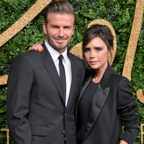 David and Victoria Beckham Dancing at Eva Longoria's Wedding