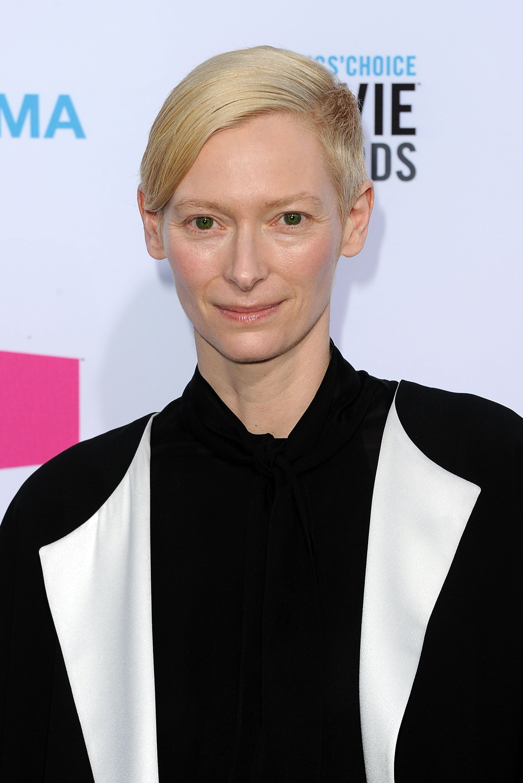 Tilda Swinton was at the Critics' Choice Movie Awards.