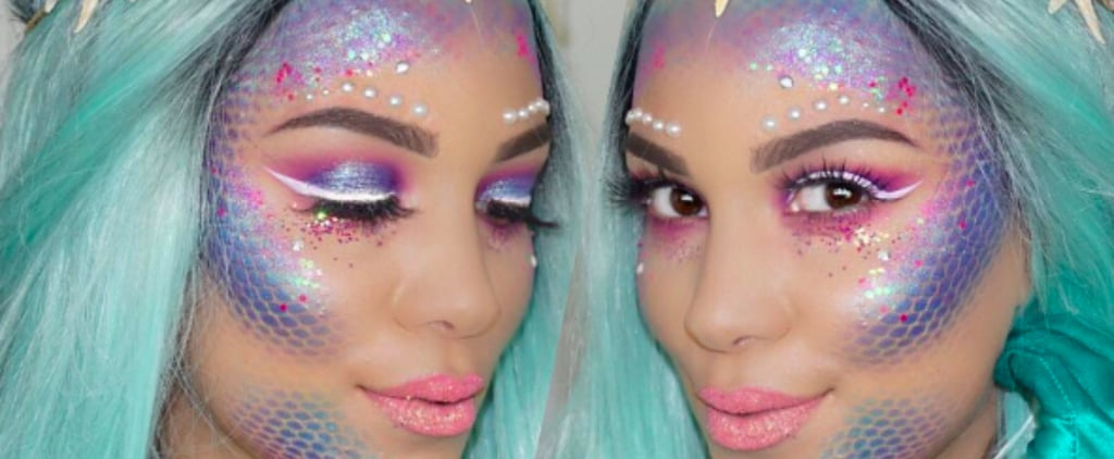 This Unexpected Item From Your Wardrobe Is the Key to Perfect Mermaid Makeup