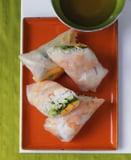 Mango Shrimp Summer Rolls